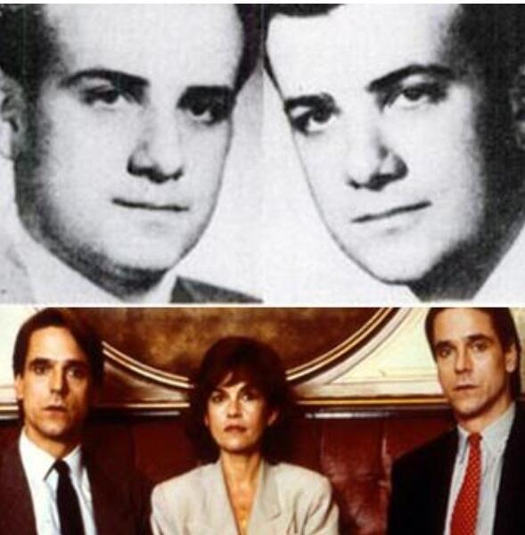 Top: Twin Gynecologists Stewart and Cyril Marcus Bottom: The Movie
